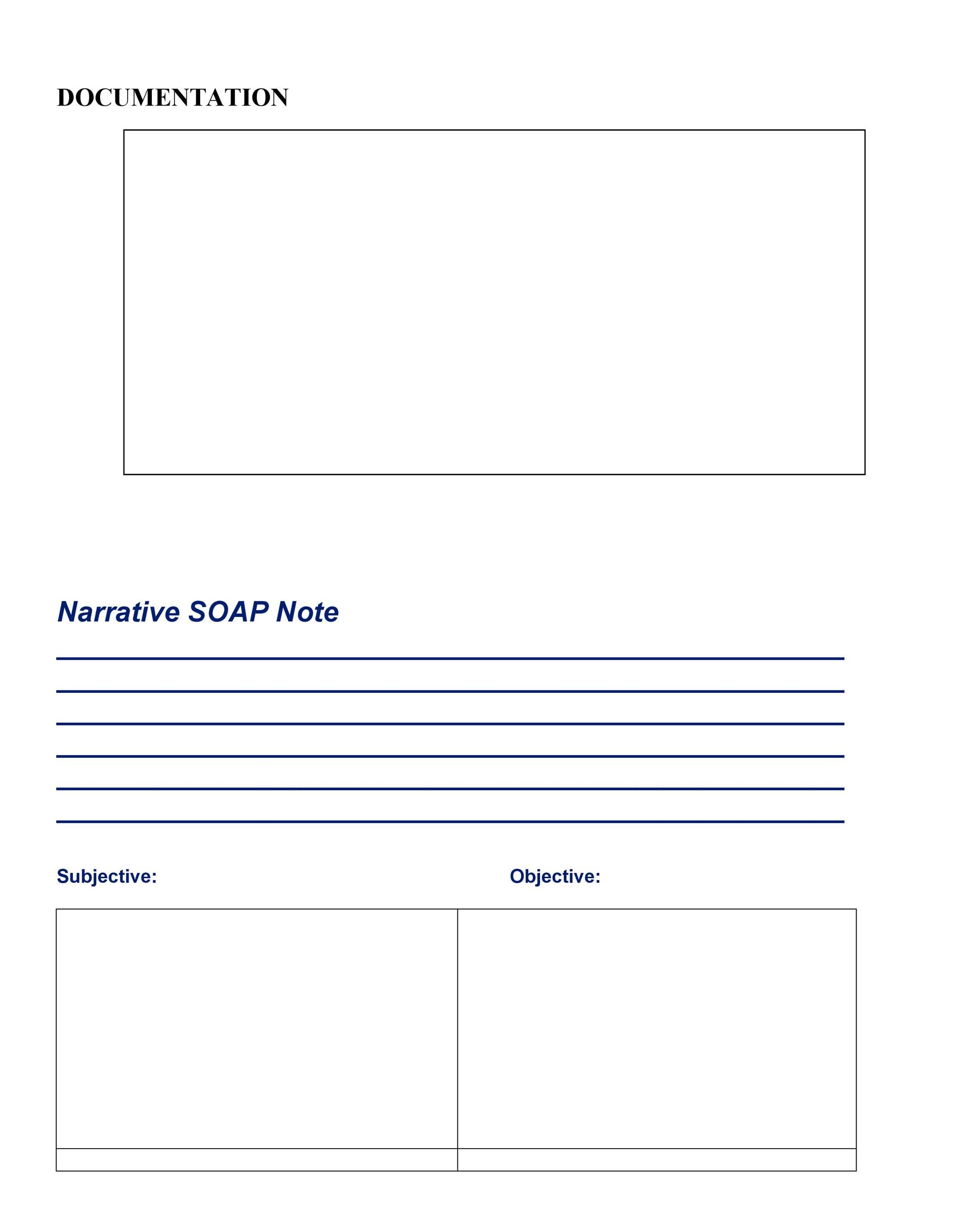 40 Fantastic SOAP Note Examples  Templates - Template Lab - soap documentation