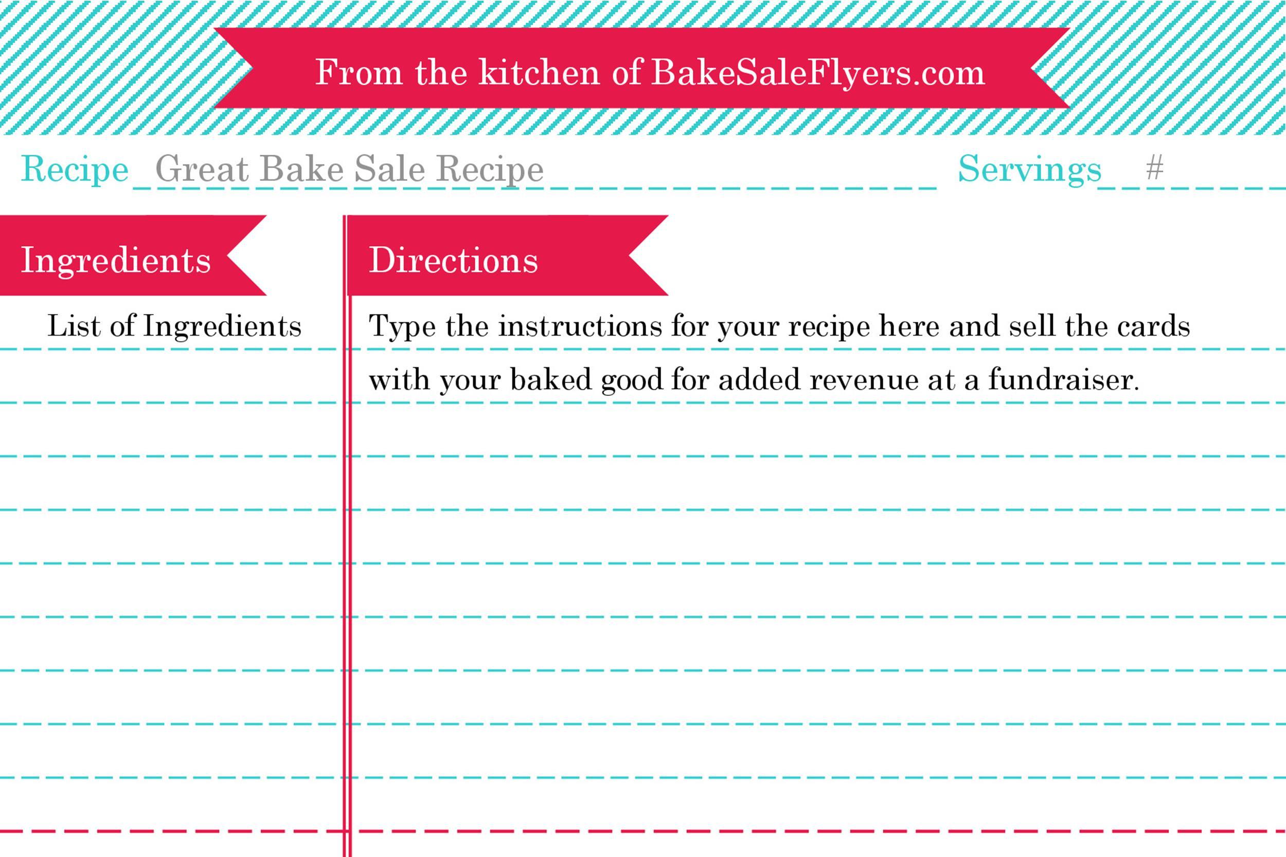 44 Perfect Cookbook Templates +Recipe Book  Recipe Cards