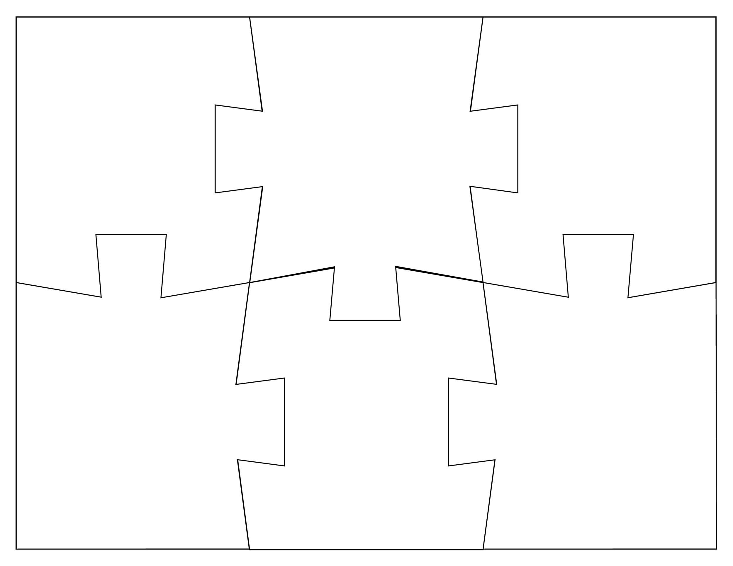 19 Printable Puzzle Piece Templates ᐅ Template Lab