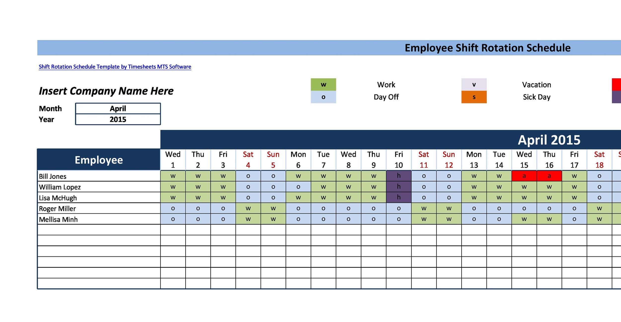 14 Dupont Shift Schedule Templats for any Company Free ᐅ Template Lab