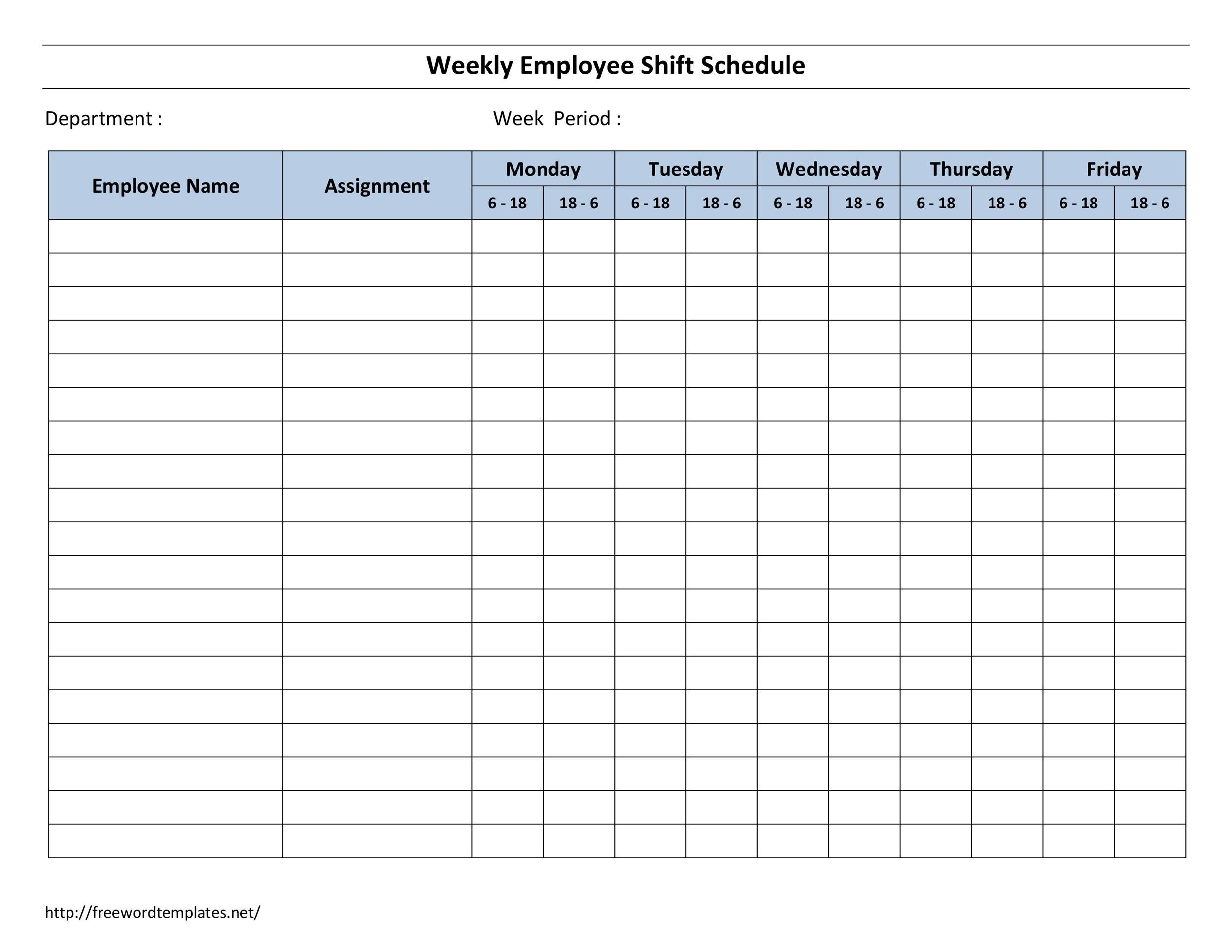 14 Dupont Shift Schedule Templats for any Company Free - Template Lab