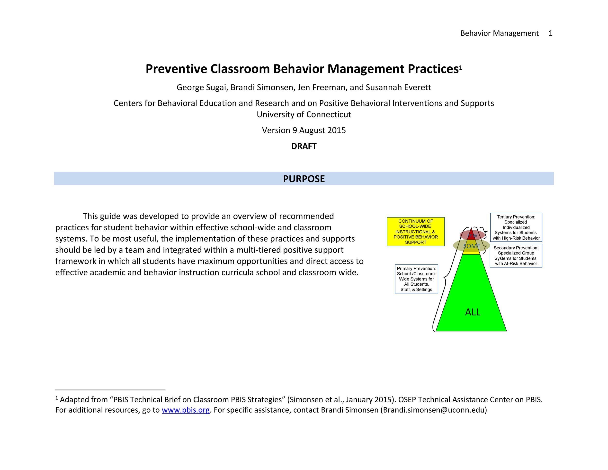Classroom Management Plan - 38 Templates  Examples - Template Lab - clroom management plan template