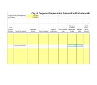 Vehicle Depreciation Schedule Calculator | 2017, 2018 ...