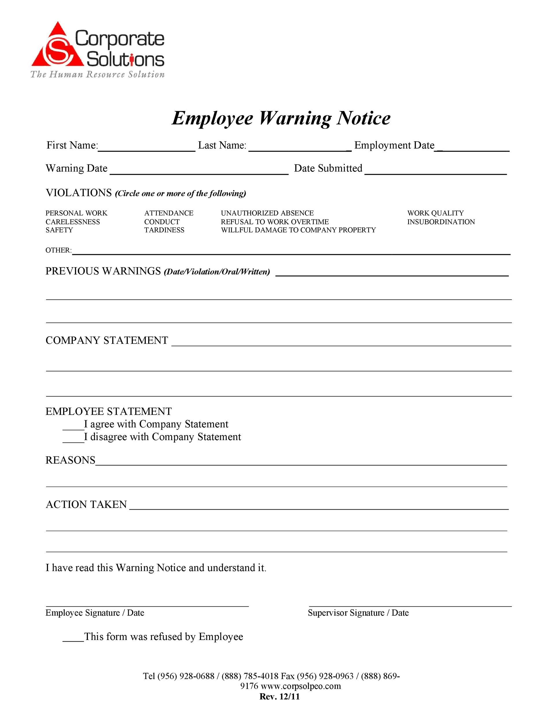 warning letters for employees - Apmayssconstruction