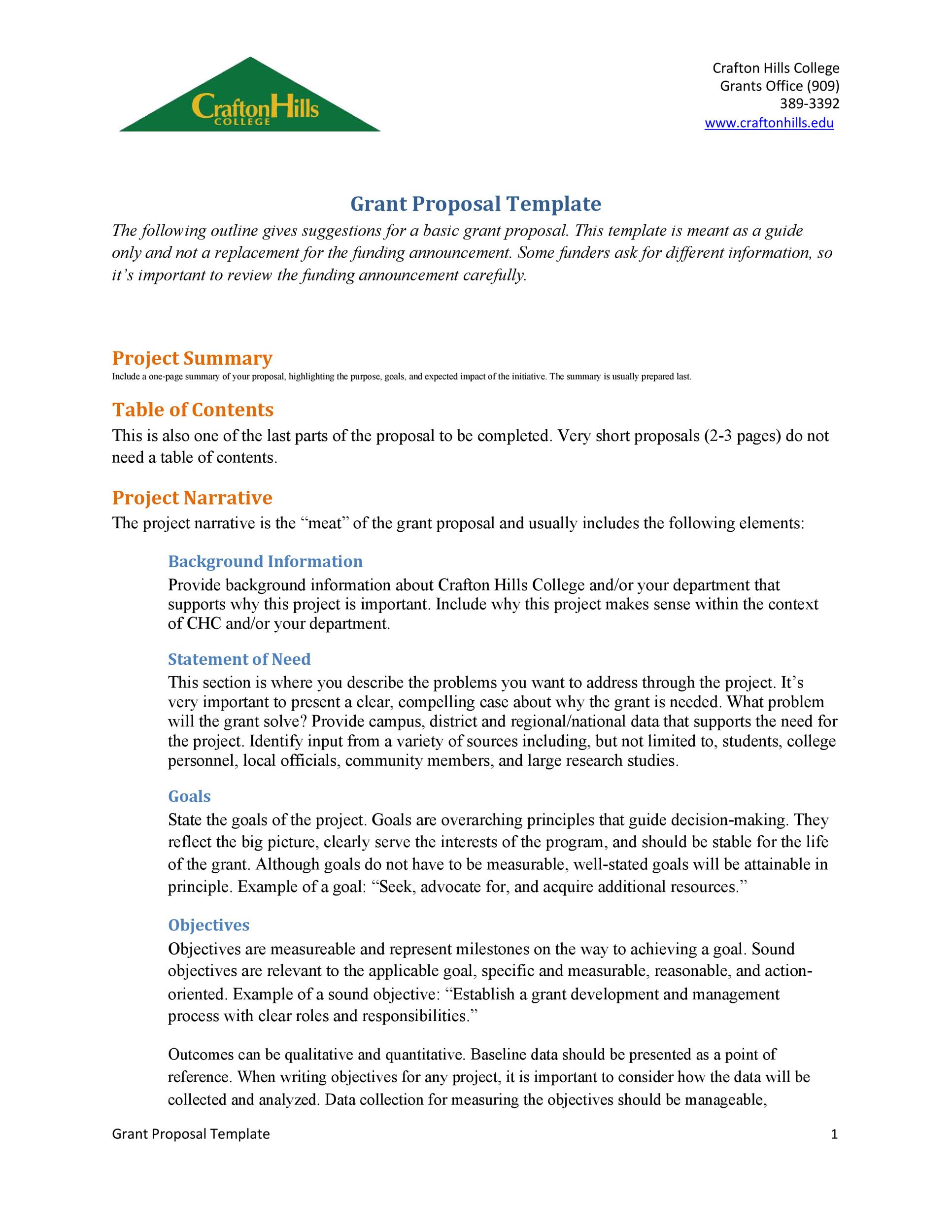 40+ Grant Proposal Templates NSF, Non-Profit, Research ᐅ Template Lab