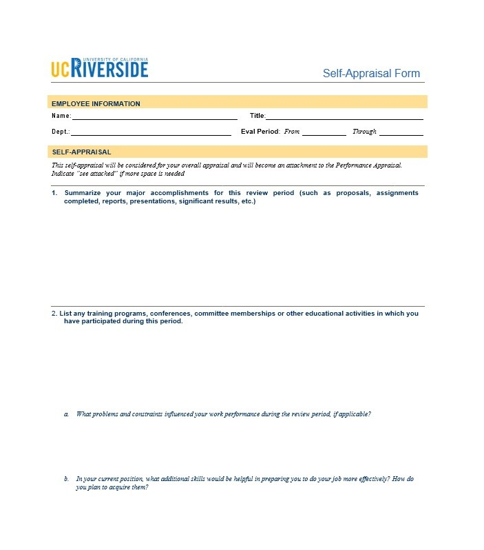 Sample Presentation Evaluation Form Example Free Evaluation Forms - class evaluation template
