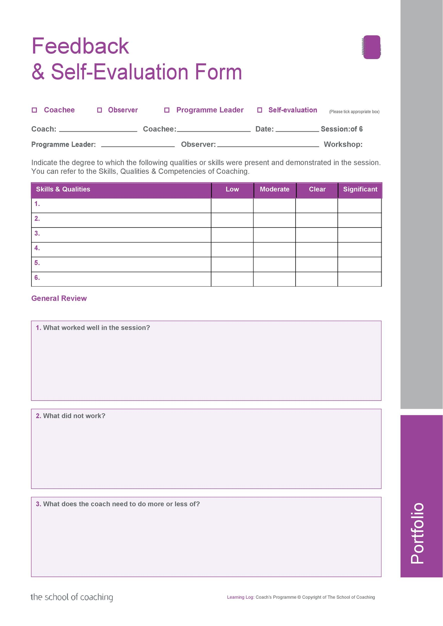 50+ Self Evaluation Examples, Forms  Questions - Template Lab - product evaluation form