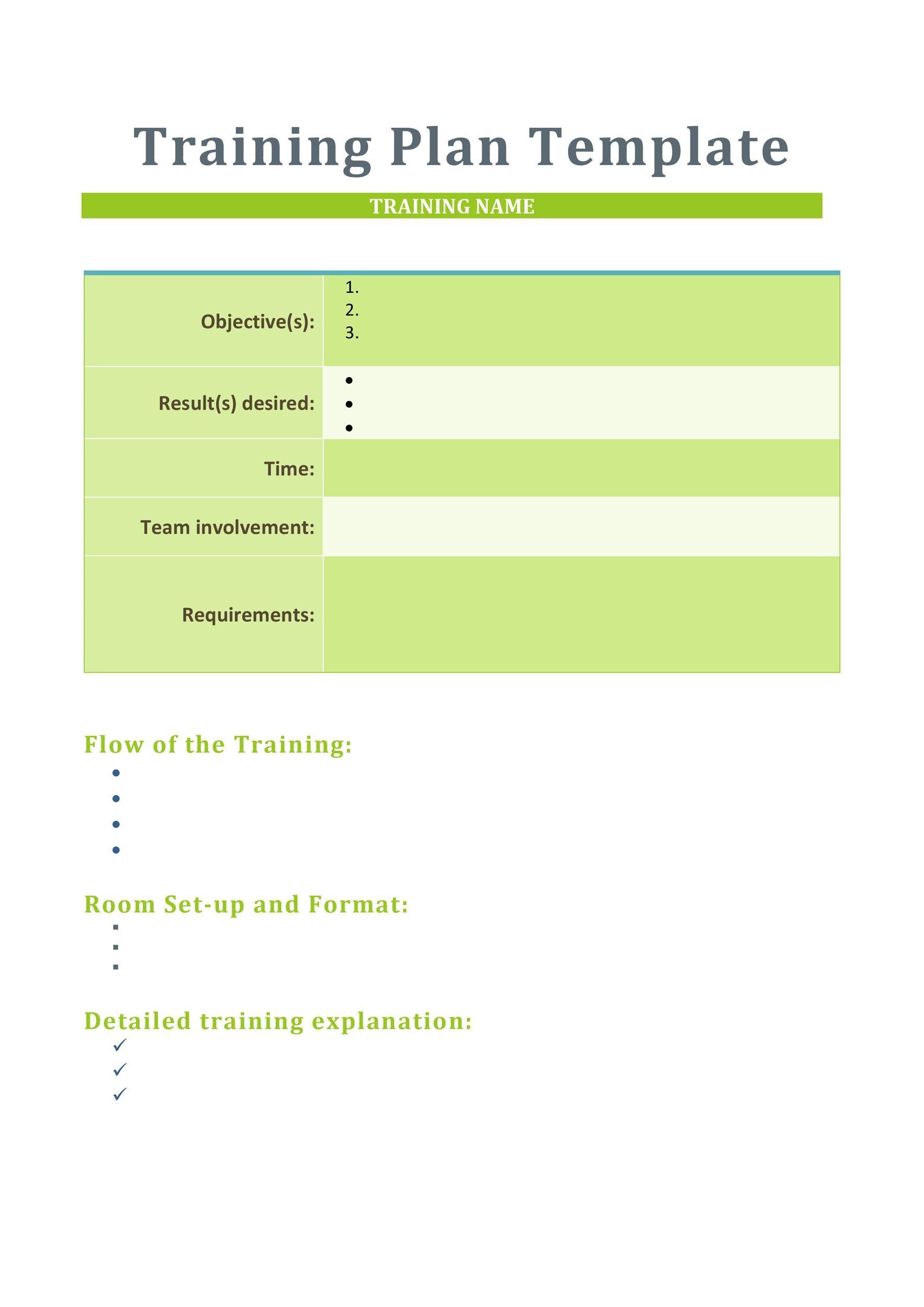 training material template - Canasbergdorfbib