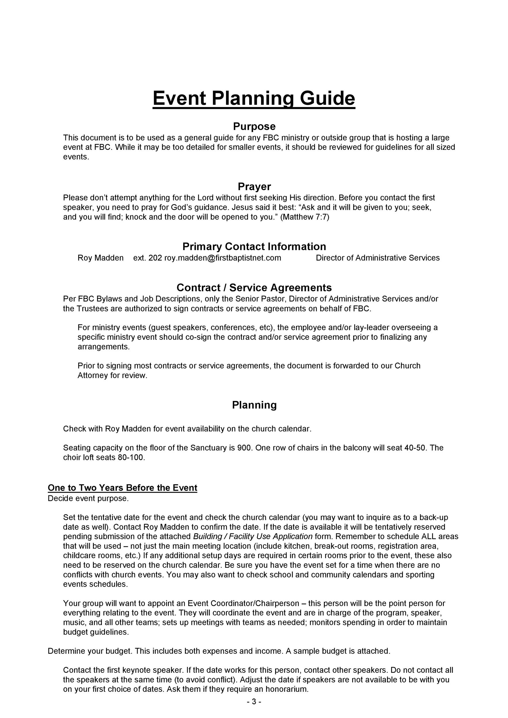 50 Professional Event Planning Checklist Templates - Template Lab - Event Planning Document Template