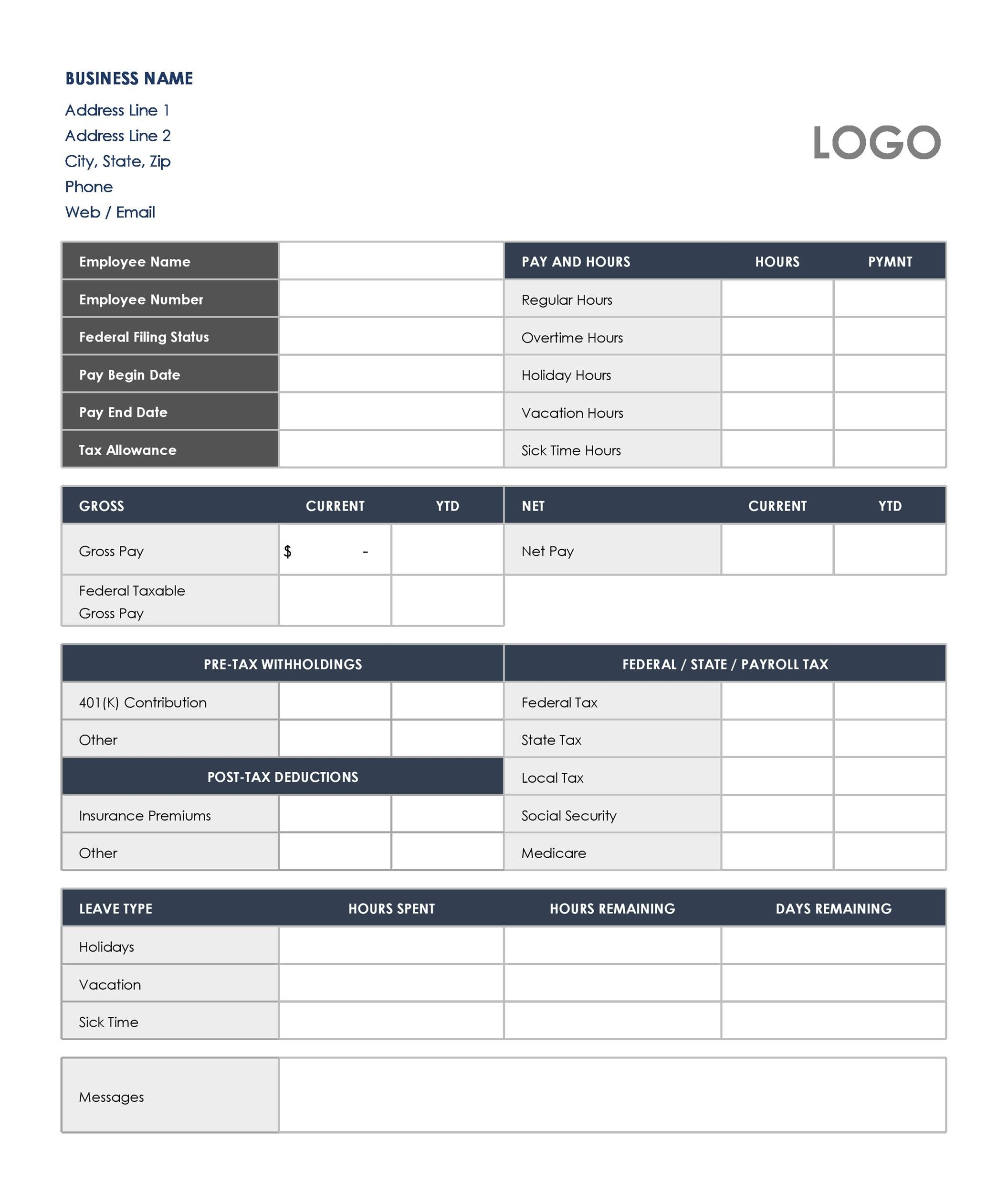 40+ Free Payroll Templates  Calculators ᐅ Template Lab