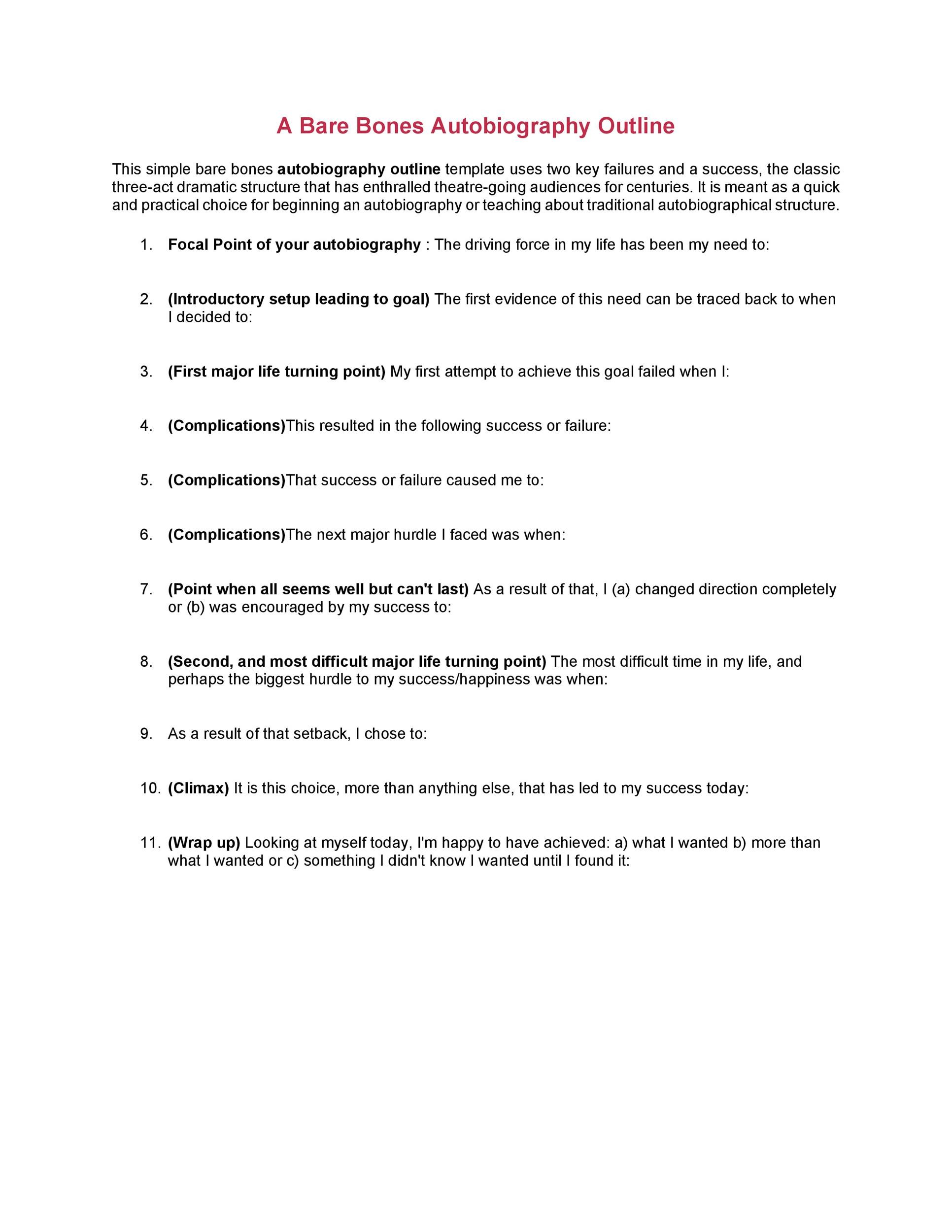 40 Autobiography Examples ( + Autobiographical Essay Templates)