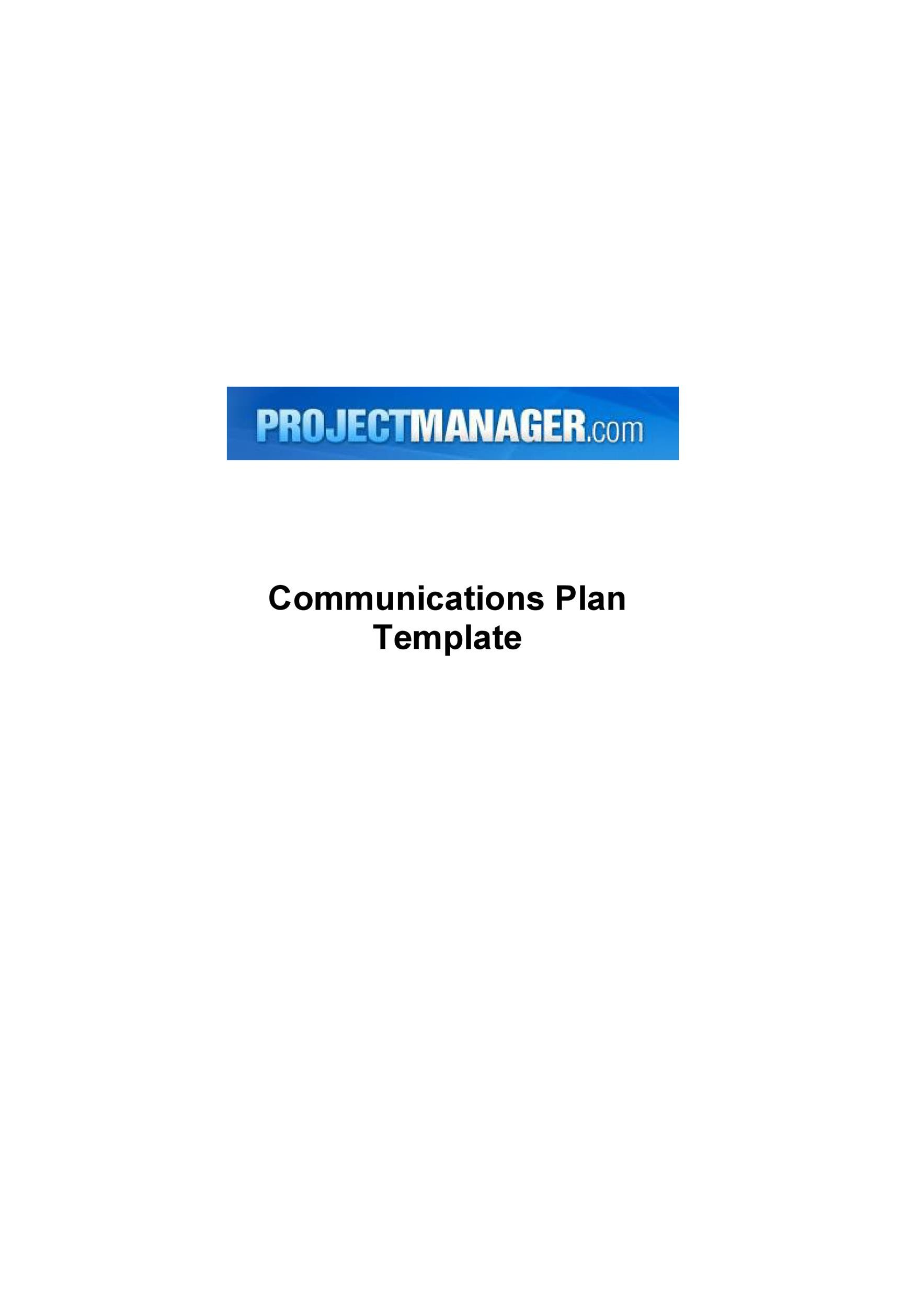 Business communication plan colbro 37 simple communication plan examples free templates template lab accmission