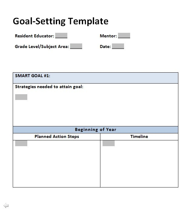 41 SMART Goal Setting Templates  Worksheets ᐅ Template Lab