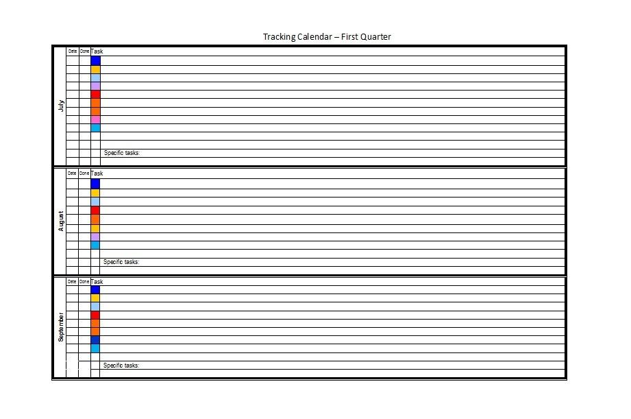 32 Free Bill Pay Checklists  Bill Calendars (PDF, Word  Excel)