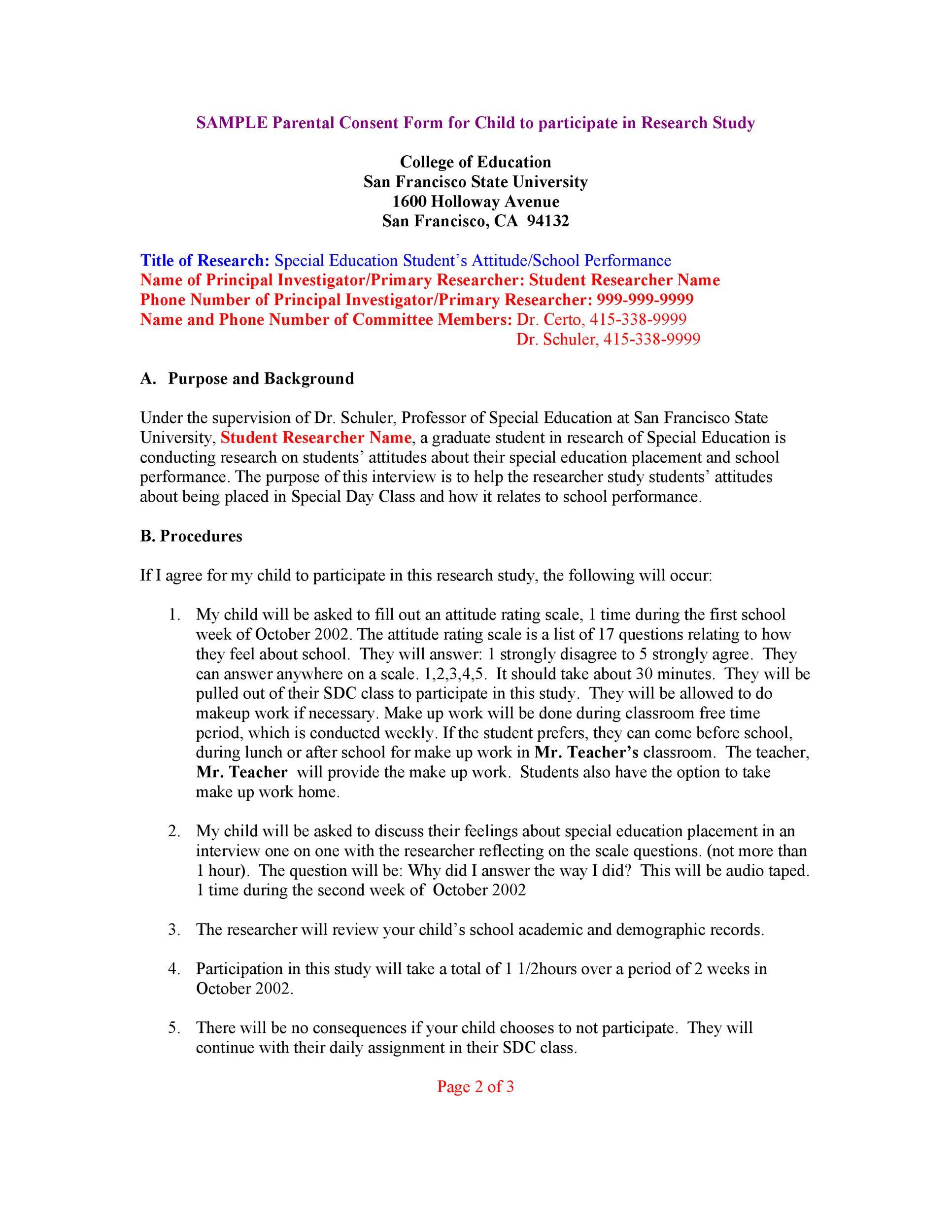 50 Printable Parental Consent Form  Templates ᐅ Template Lab