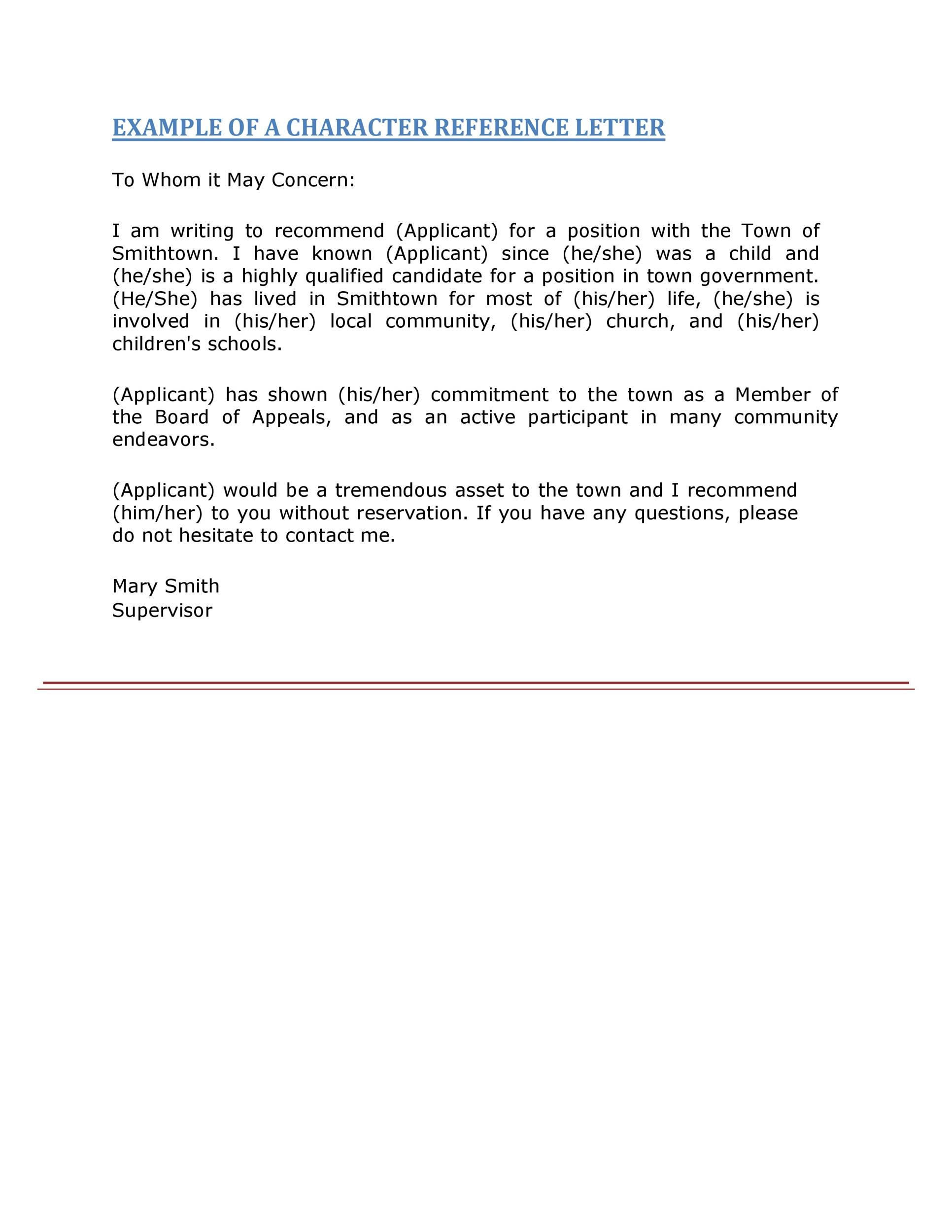 50 Best Recommendation Letters For Employee From Manager