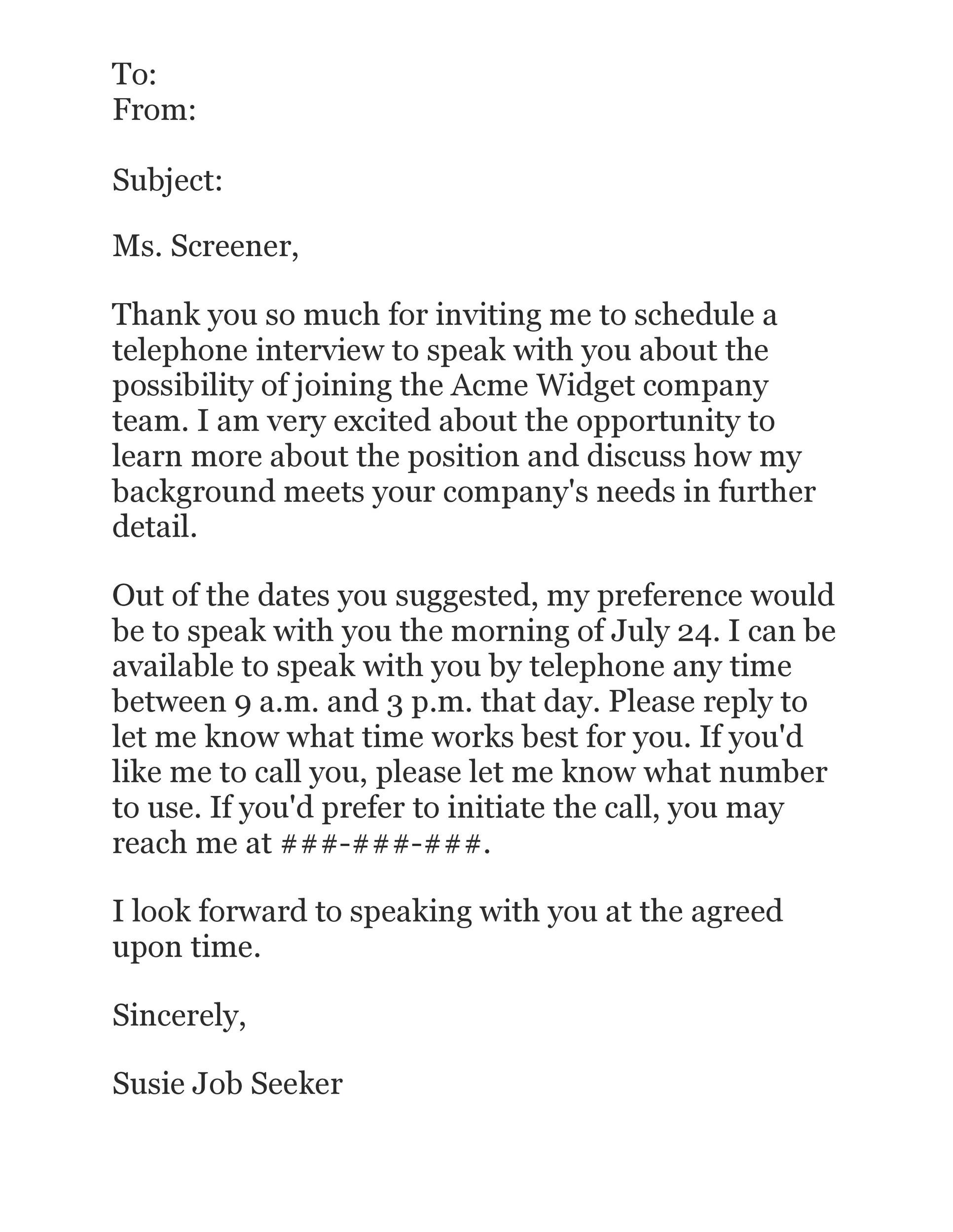 38 Professional Interview Acceptance Emails (+Smart Tips) ᐅ