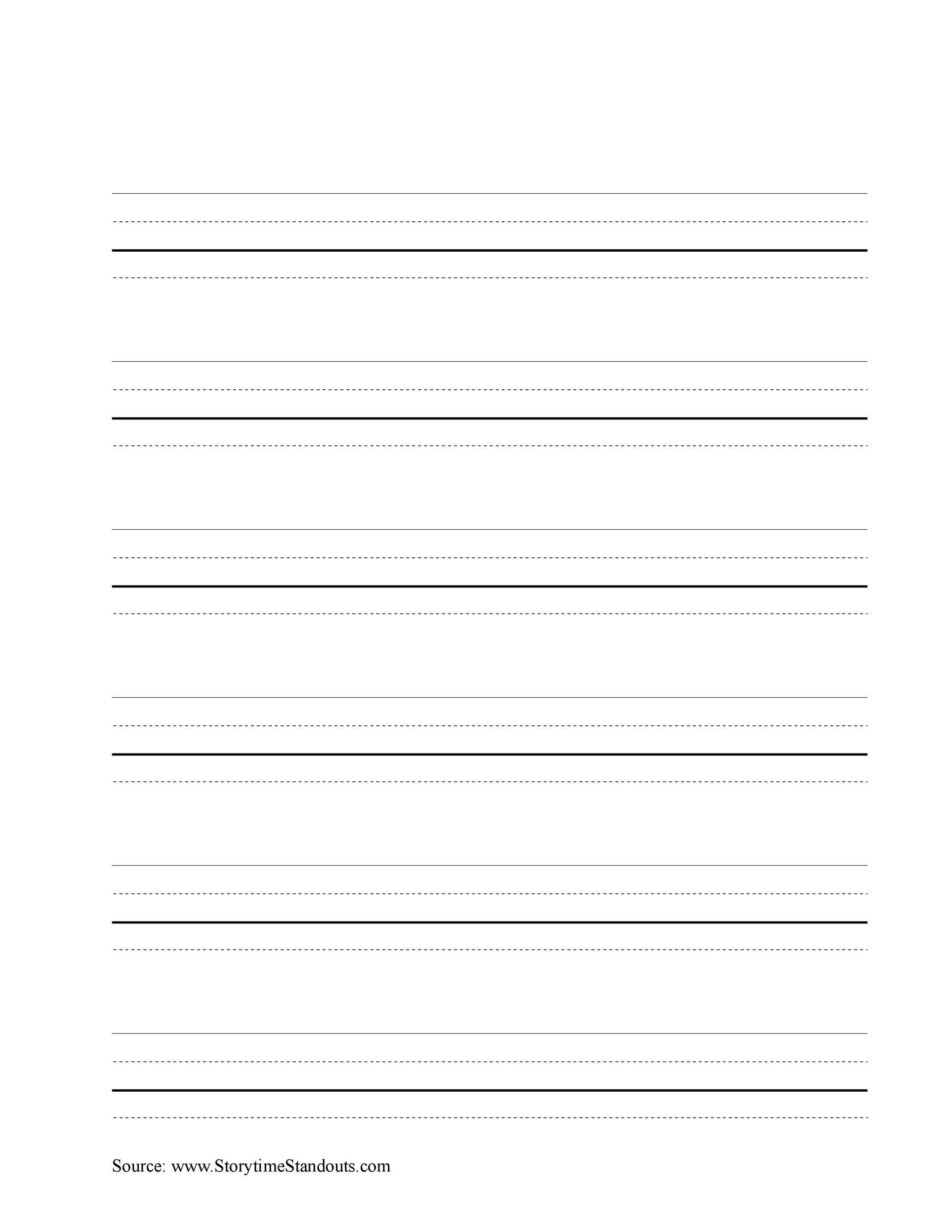free line paper template - Pinarkubkireklamowe