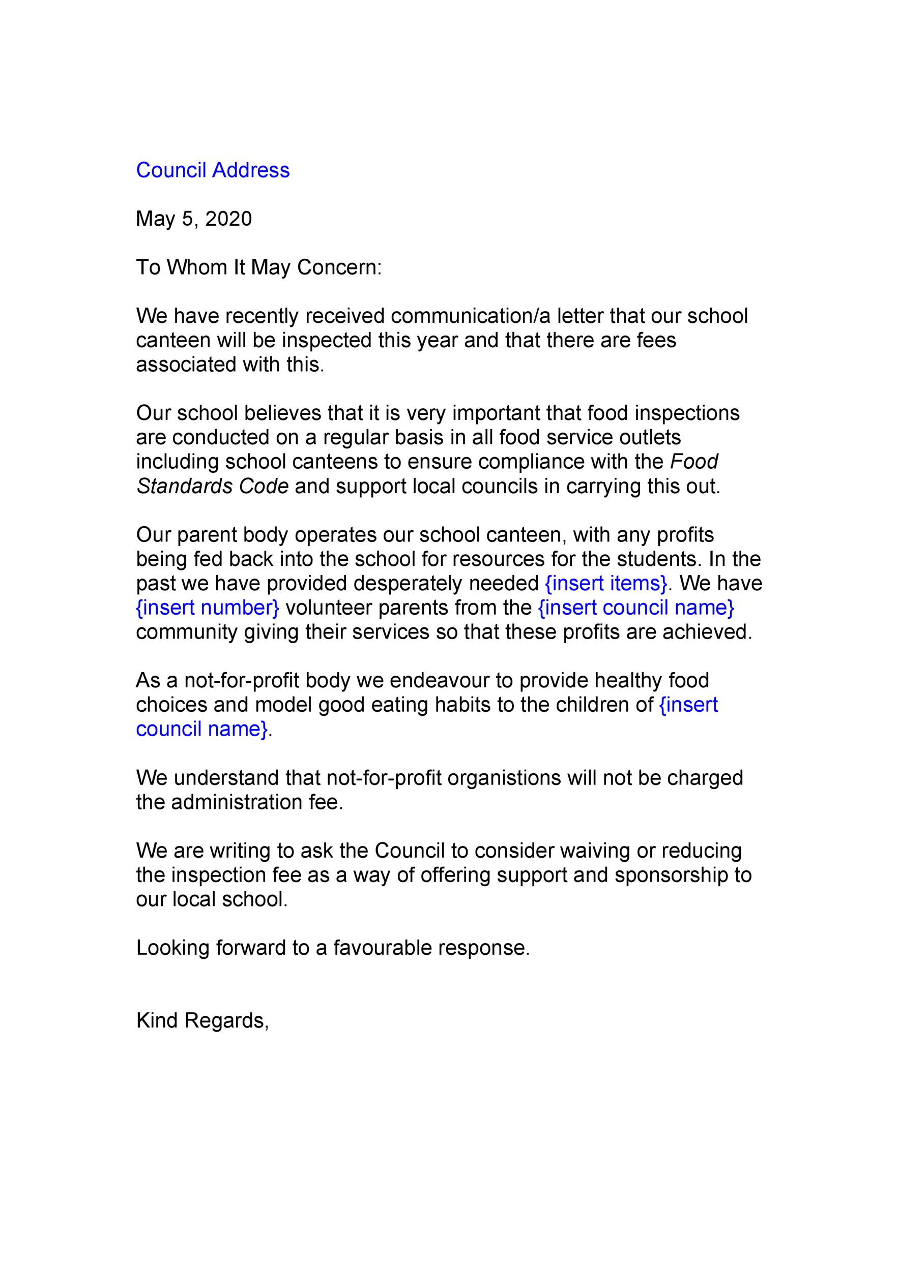 50 To Whom It May Concern Letter  Email Templates ᐅ Template Lab