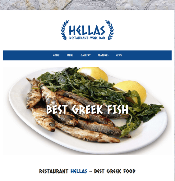 hellas restaurant wordpress theme