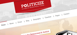 more best political wordpress themes feature
