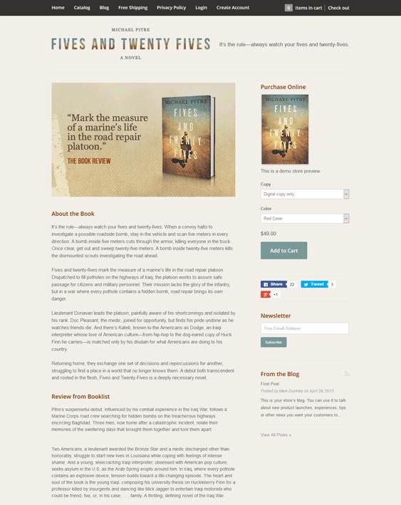 kickstand shopify themes books