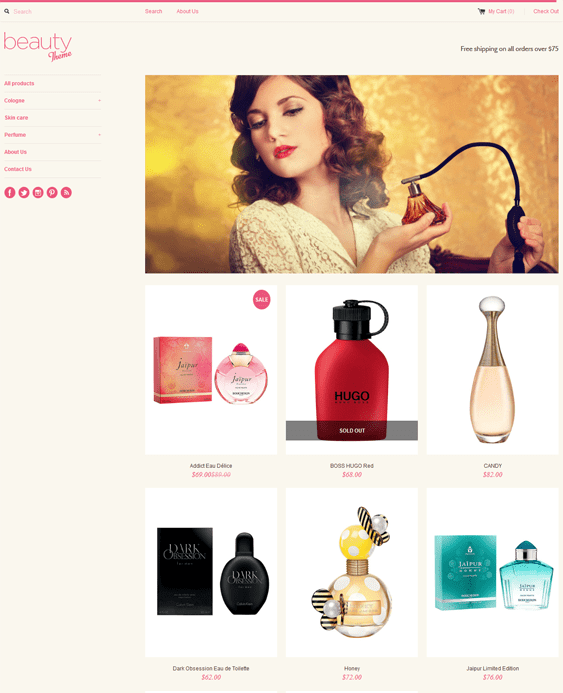 simple health beauty shopify theme