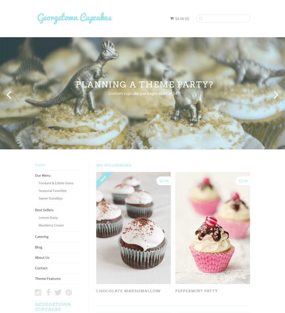 sugar bright minimal shopify themes