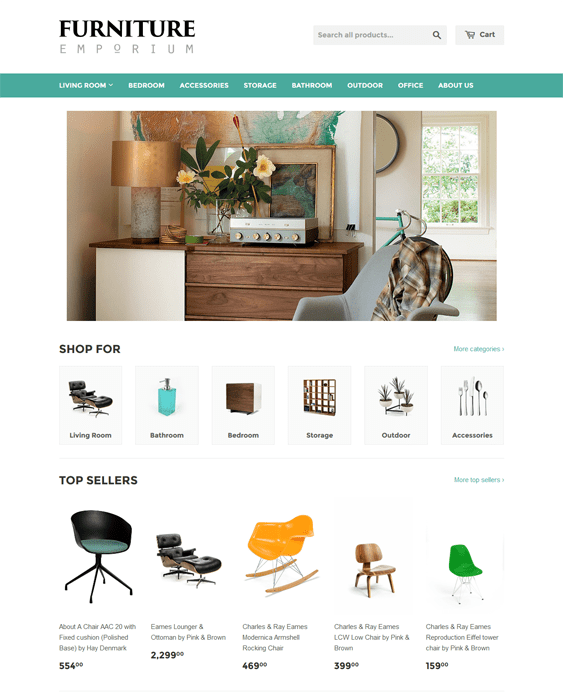 supply homewares furniture shopify themes