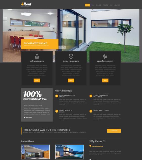 real estate agency drupal theme