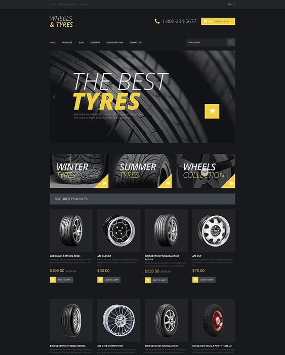 wheelscar vehicle automotive shopify themes