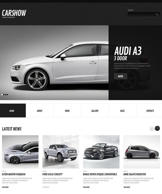 car vehicle automotive wordpress themes 1