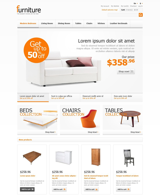furniture magento themes 2