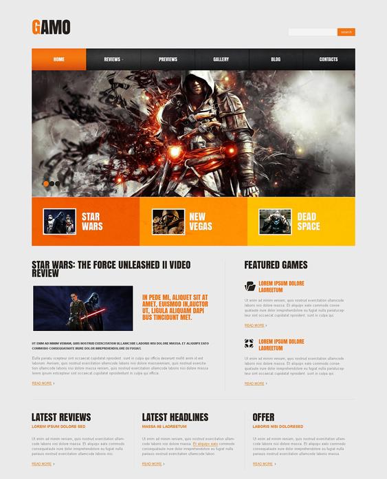 game portal gaming wordpress themes 2
