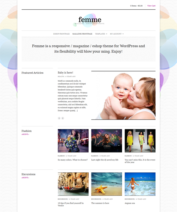 femme news magazine wordpress themes