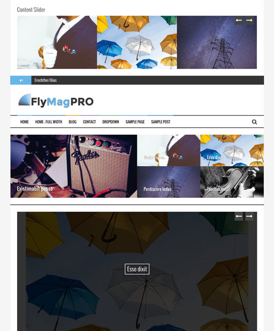 flymag news magazine wordpress themes