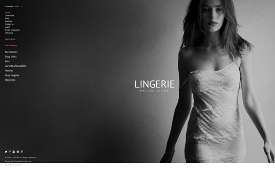 lingerie responsive shopify themes