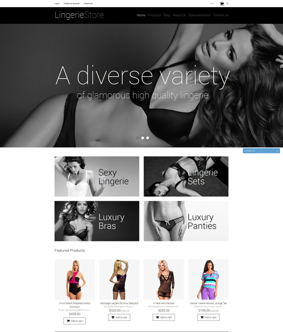 lingerie 2 shopify themes