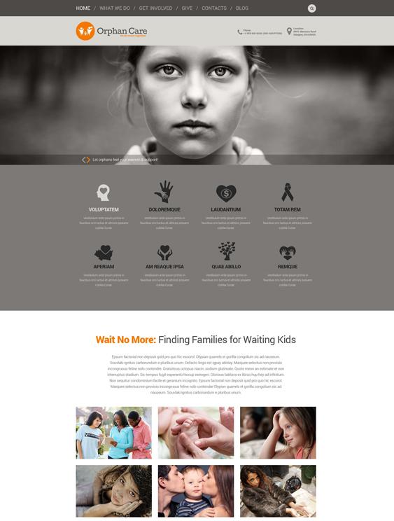 uniting charity nonprofit wordpress themes