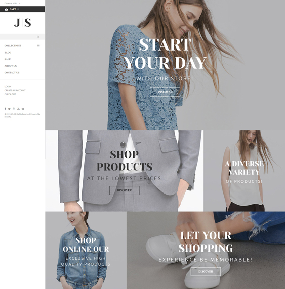 apparel responsive shopify themes