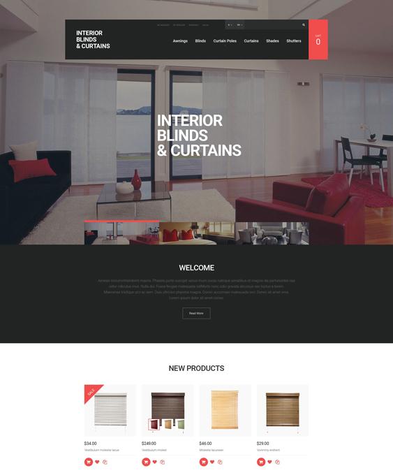 window minimal magento themes