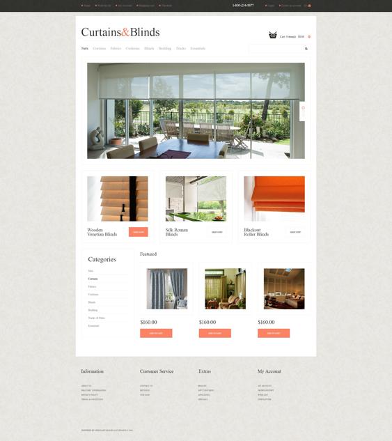 furniture window home decor interior design opencart themes