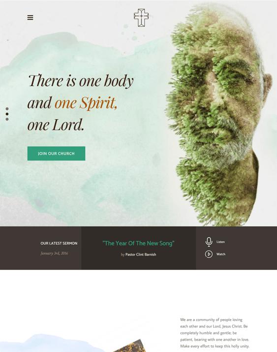 the core creed church wordpress themes
