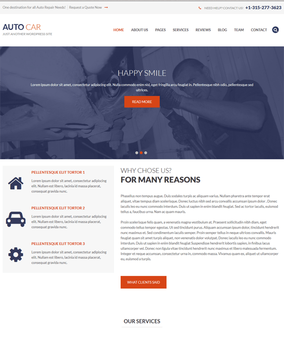 auto car vehicle automotive wordpress themes