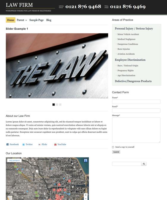 law firm lawyer attorney wordpress themes