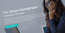 free premium cv resume wordpress themes feature