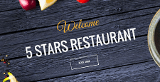 more best restaurant joomla templates feature