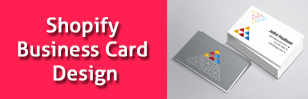 business card design shopify apps custom products