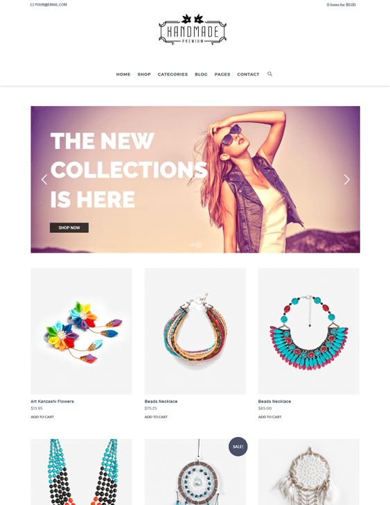 delo jewelry wordpress themes