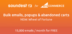 soundest email marketing bigcommerce apps